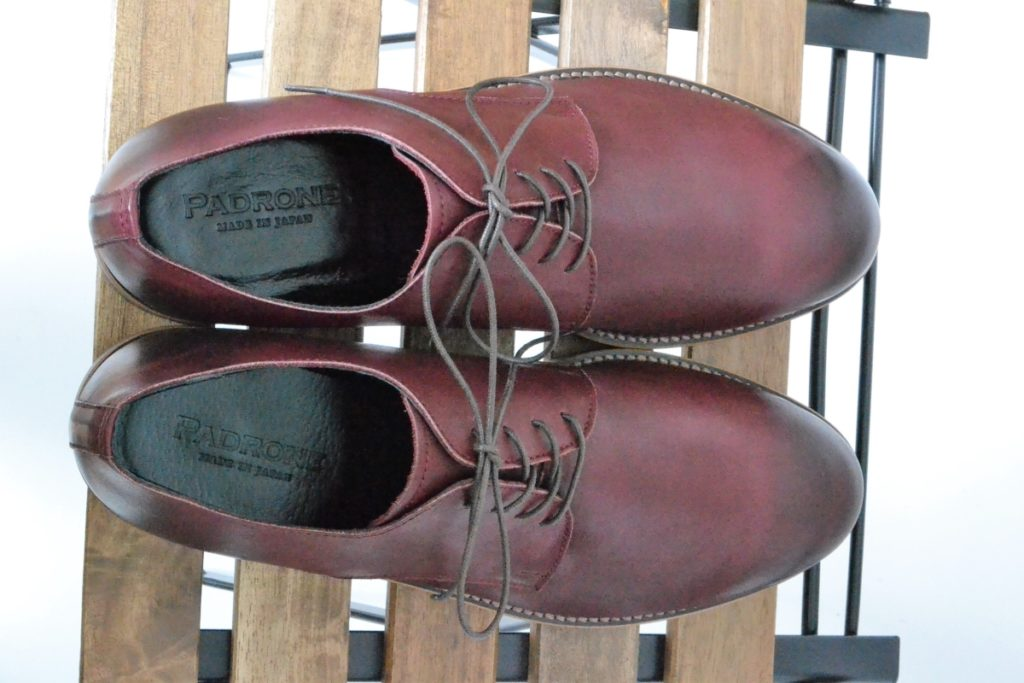 DERBY PLAIN TOE SHOES WATER PROOF LEATHERの買取実績画像