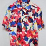 × 横尾忠則  Tadanori Yokoo/PALETTE パレット柄 半袖シャツ