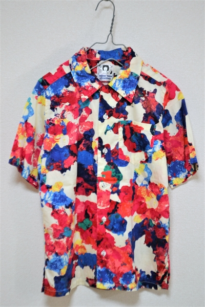 × 横尾忠則  Tadanori Yokoo/PALETTE パレット柄 半袖シャツの買取実績画像