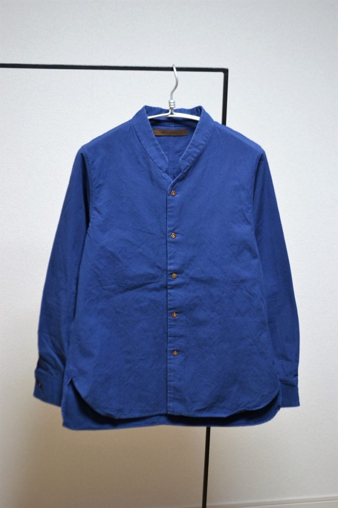 vintage heavy cotton poplin napoleon collar