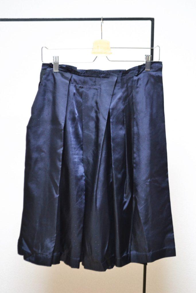 キュプラドット プリーツスカートの買取実績画像