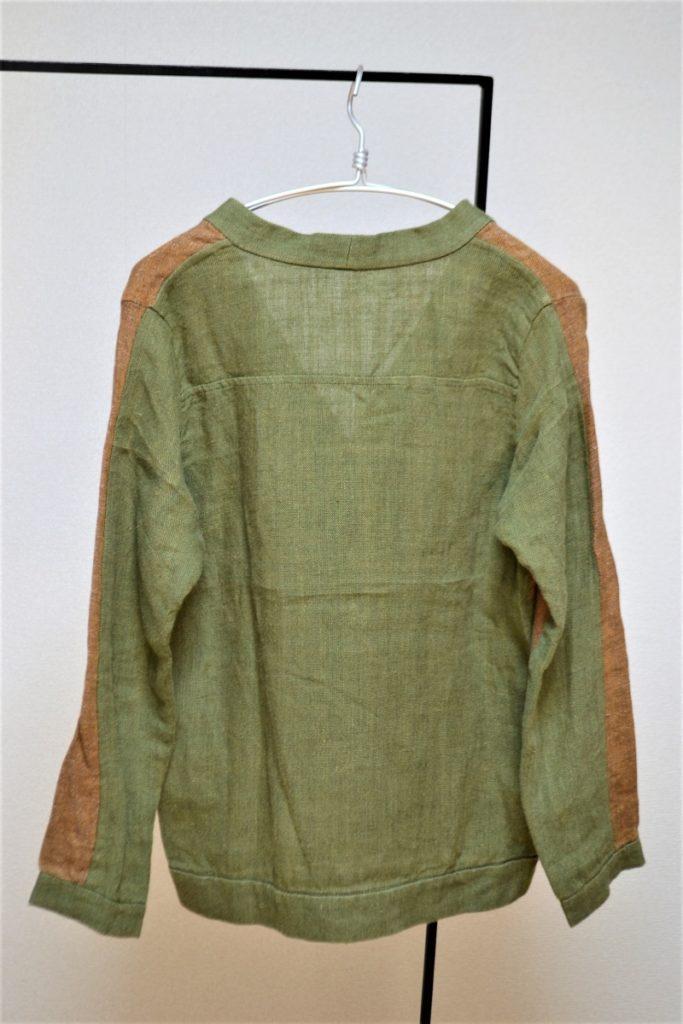 ORANGE/GREEN LINEN CARDIGANの買取実績画像