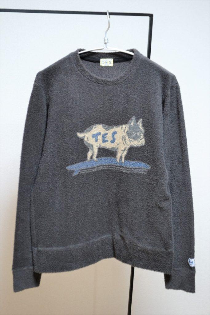 TES COMFORTABLE PILE BUHI C/N パイル ロングTシャツ