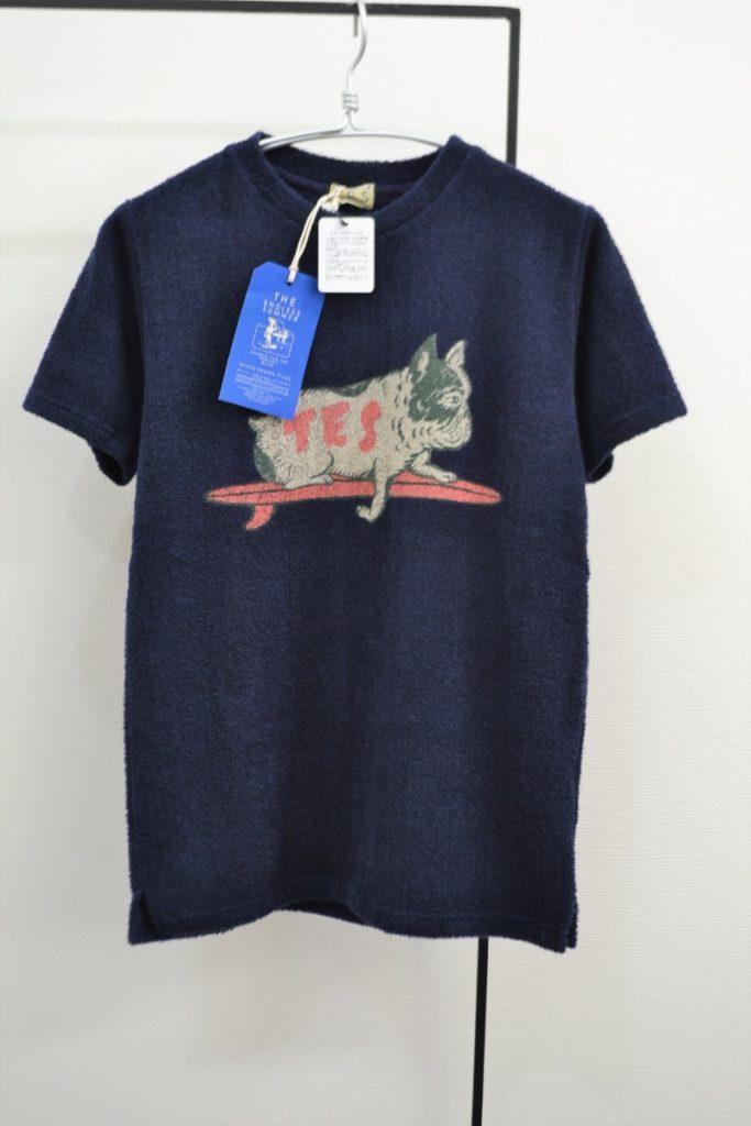COMFORTABLE PILE BUHI TEE ブヒ パイルTシャツ