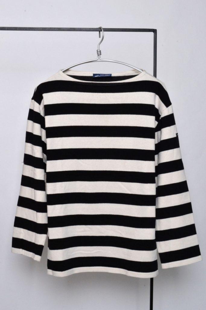 OUESSANT ウエッソン ワイドボーダーバスクシャツ