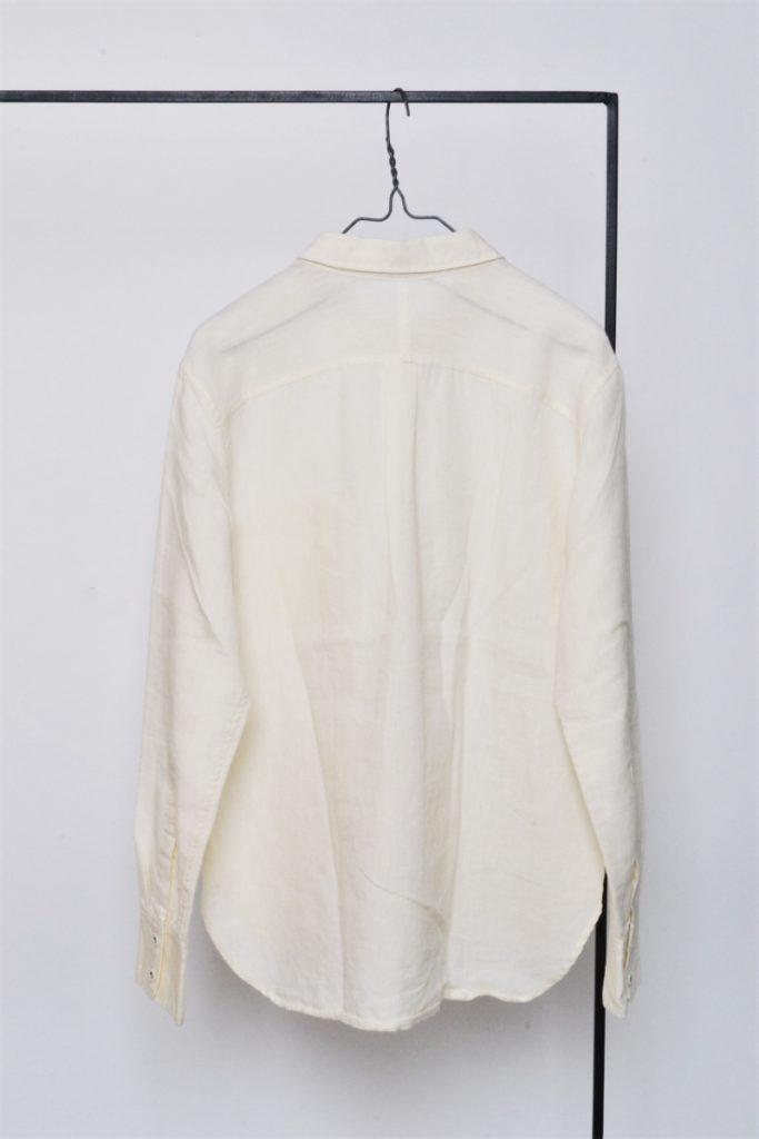 リネンウール ポケット付き シャツの買取実績画像