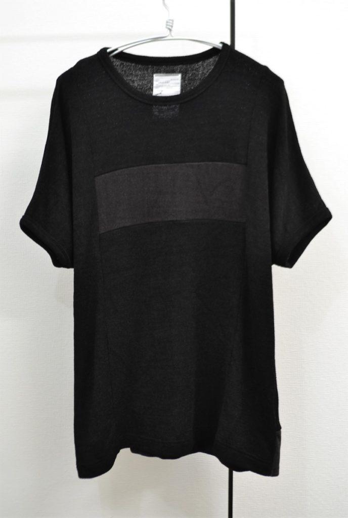 E/R PLAIN STITCH DOLMAN S/S BIG-T BLK ドルマンスリーブ ビッグTシャツ