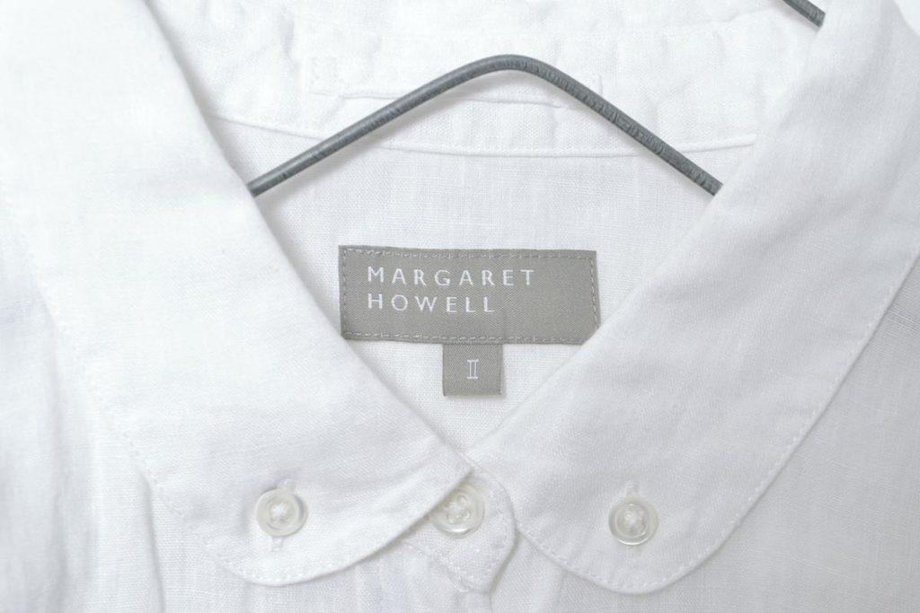 リネン丸襟BDシャツの買取実績画像
