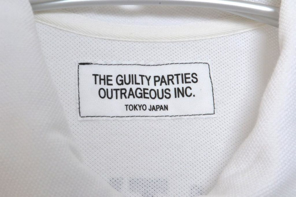 GUILTY PARTIES/ 鹿の子 七分袖プルオーバーシャツの買取実績画像