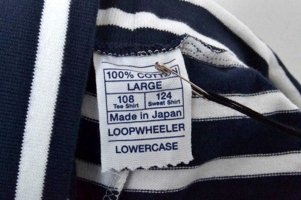 LOWERCASE 天竺ボーダーショーツ ショートパンツの買取実績画像