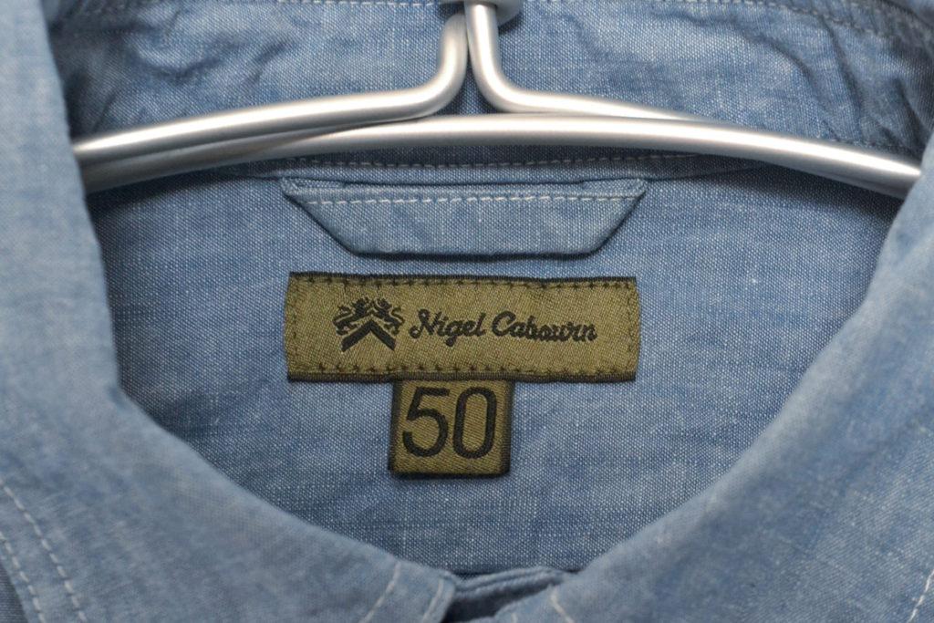 NAVAL SHIRT ナーバルシャツ コットンリネンデニム プルオーバー半袖シャツの買取実績画像