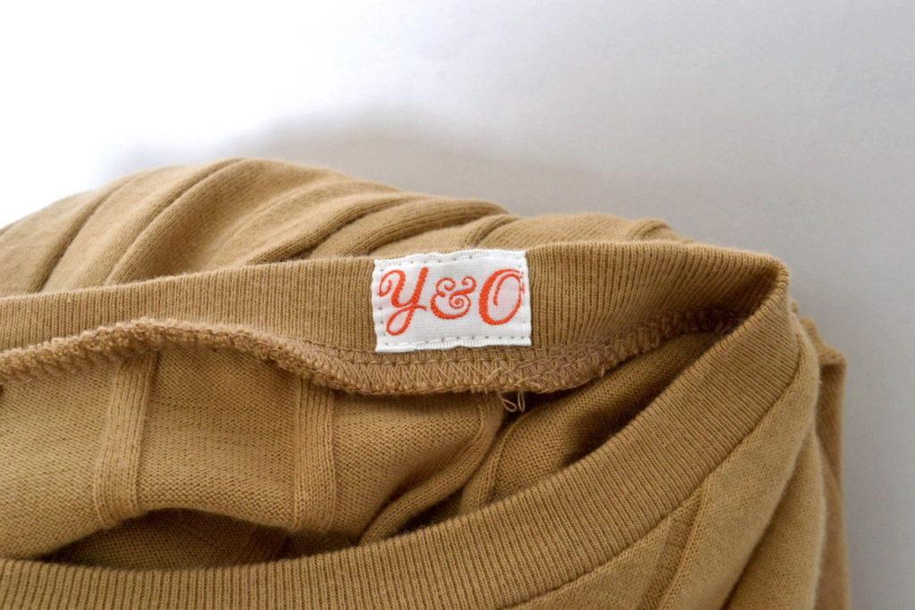 BROAD RIB CREW NECK リブクルーネックTシャツの買取実績画像