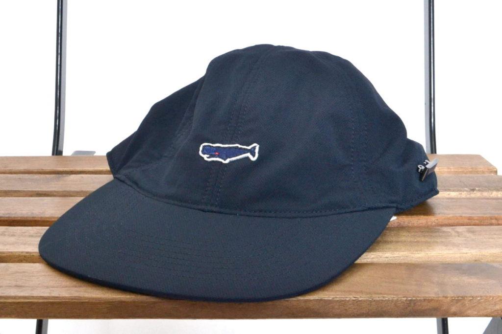 ALPHADRY Cap アルファドライ クジラワッペン キャップ