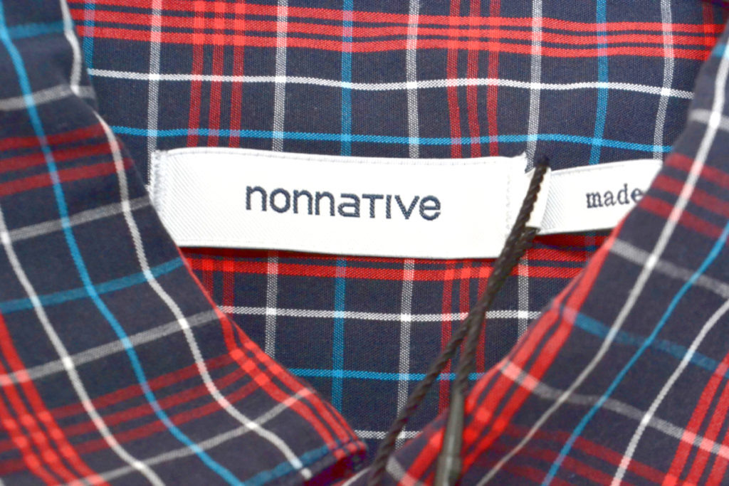 GARDENER LONG SHIRT COTTON TWILL TARTAN PLAIDの買取実績画像