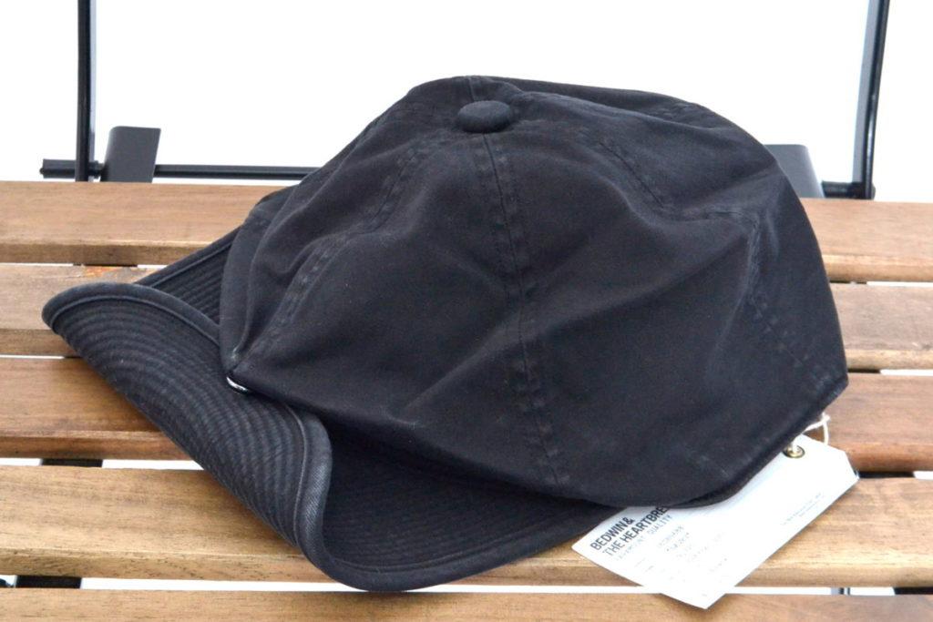 SHALLOW BASEBALL CAP DAVEY ヴィンテージ加工 ベースボールキャップ