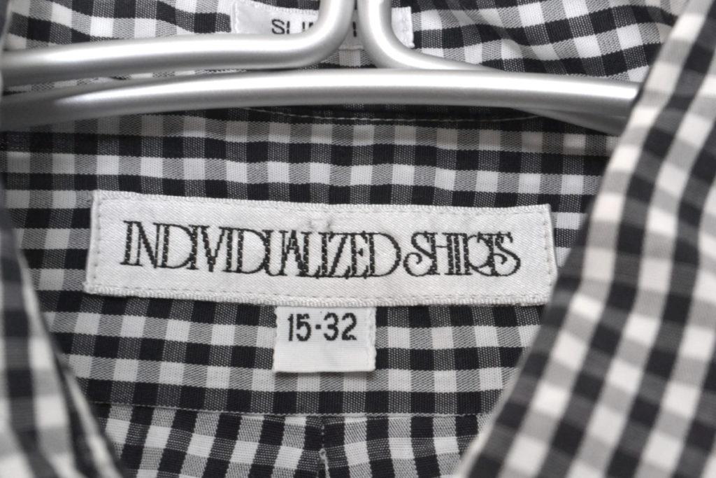 SLIM FIT スリムフィット ギンガムチェック BDシャツの買取実績画像