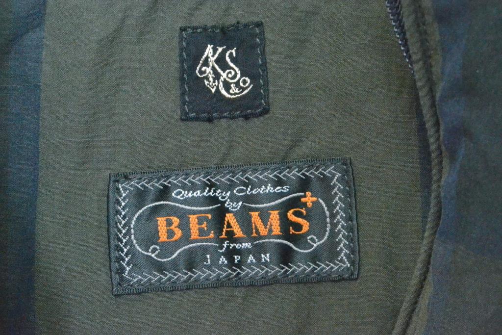 BEAMS+別注/キャリーパーカ アノラックの買取実績画像