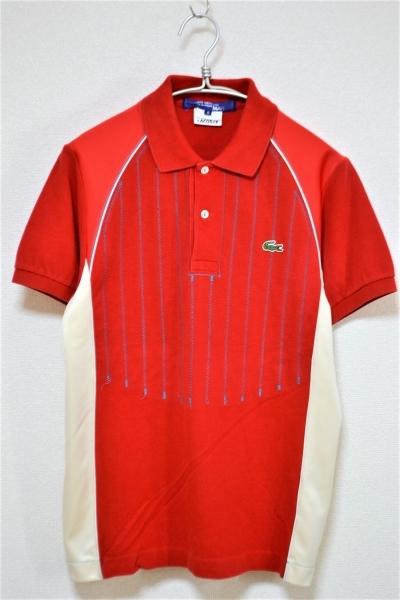 × LACOSTE/解体再構築 ポロシャツ