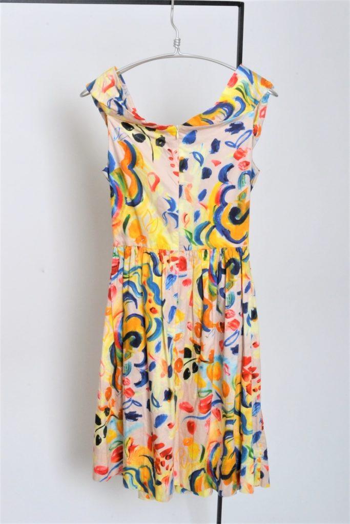 油彩画風 ドレス ワンピース/の買取実績画像