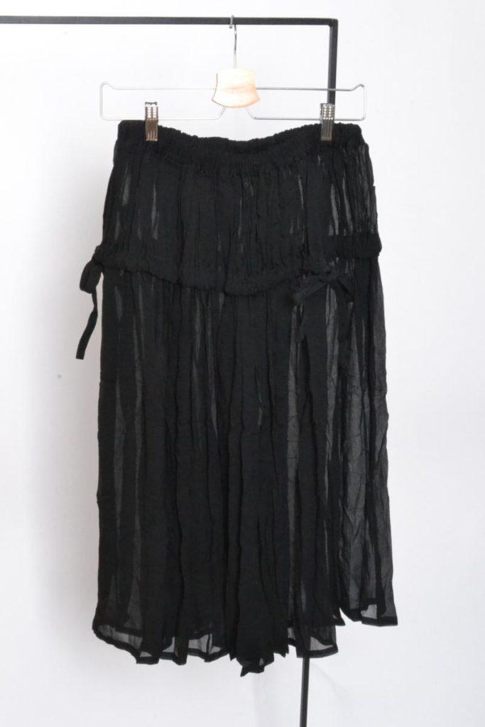 シースルー シルクティアード ギャザースカートの買取実績画像