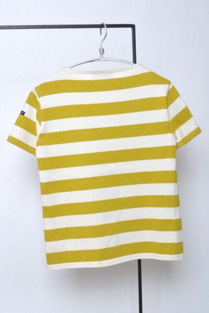 OUESSANT WIDEBORDER ウエッソン ワイドボーダー 半袖 バスクシャツの買取実績画像