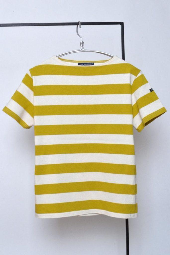 OUESSANT WIDEBORDER ウエッソン ワイドボーダー 半袖 バスクシャツ