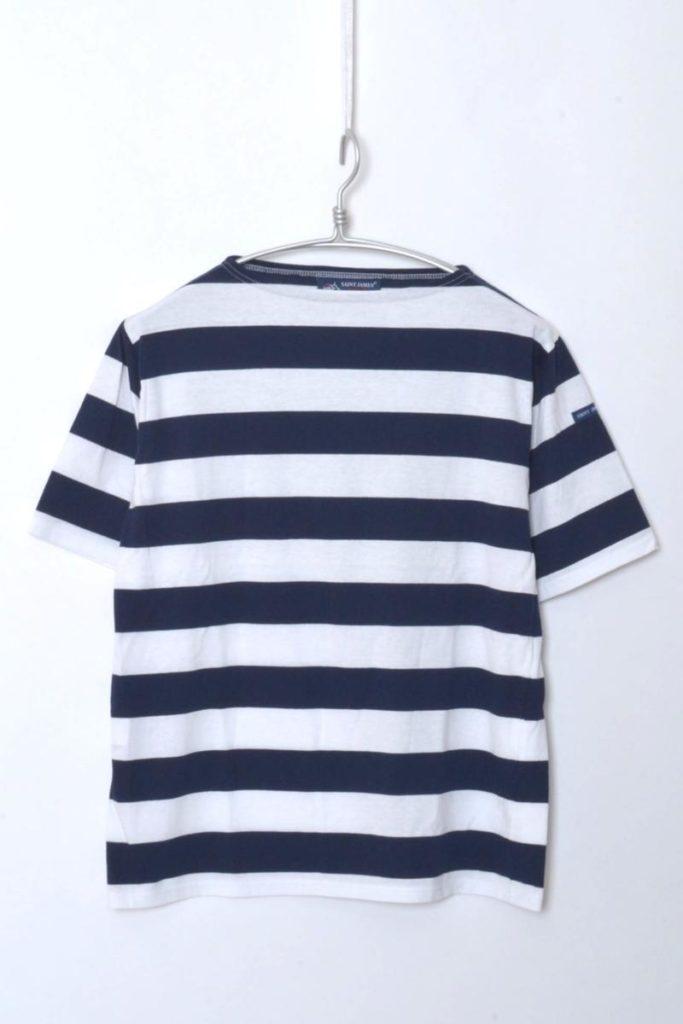 PIRIAC WIDEBORDER ピリアック ワイドボーダー ボートネック半袖Tシャツ