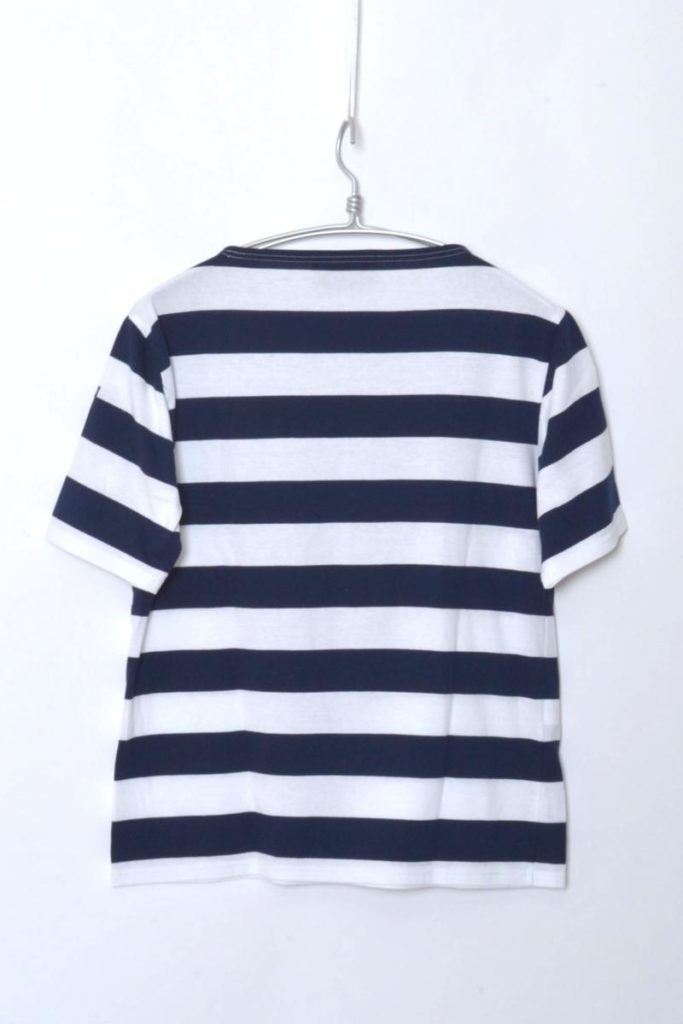PIRIAC WIDEBORDER ピリアック ワイドボーダー ボートネック半袖Tシャツの買取実績画像