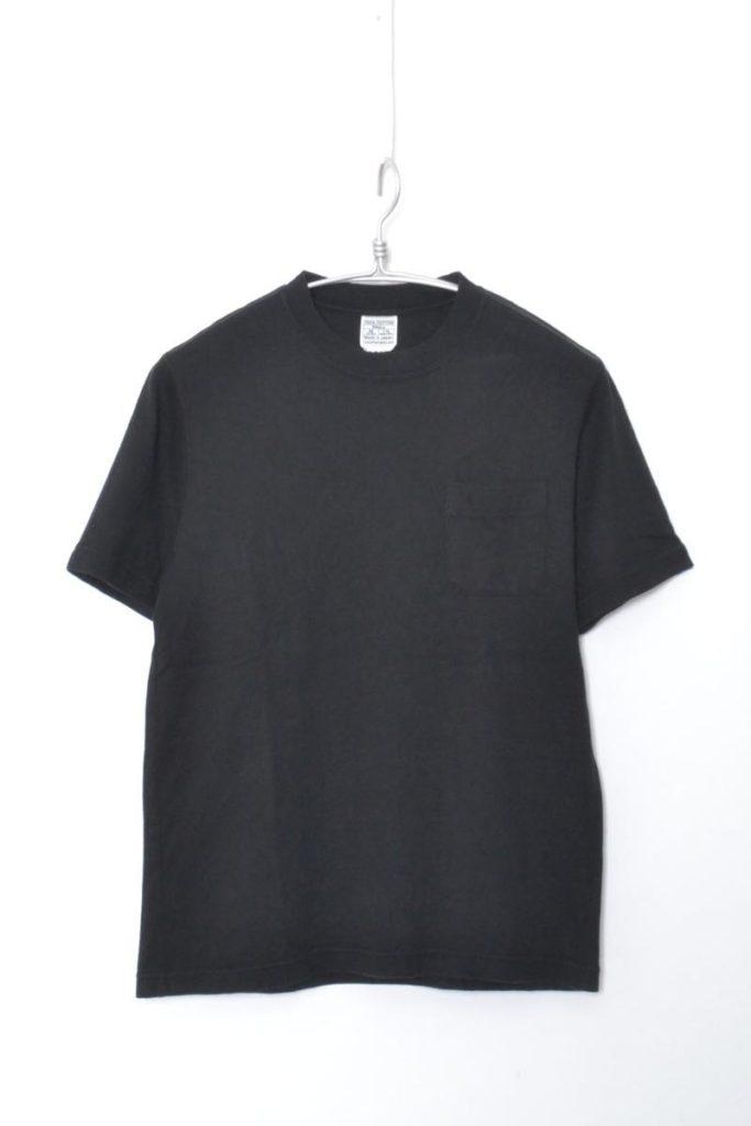 吊り編み天竺 ポケットTシャツ