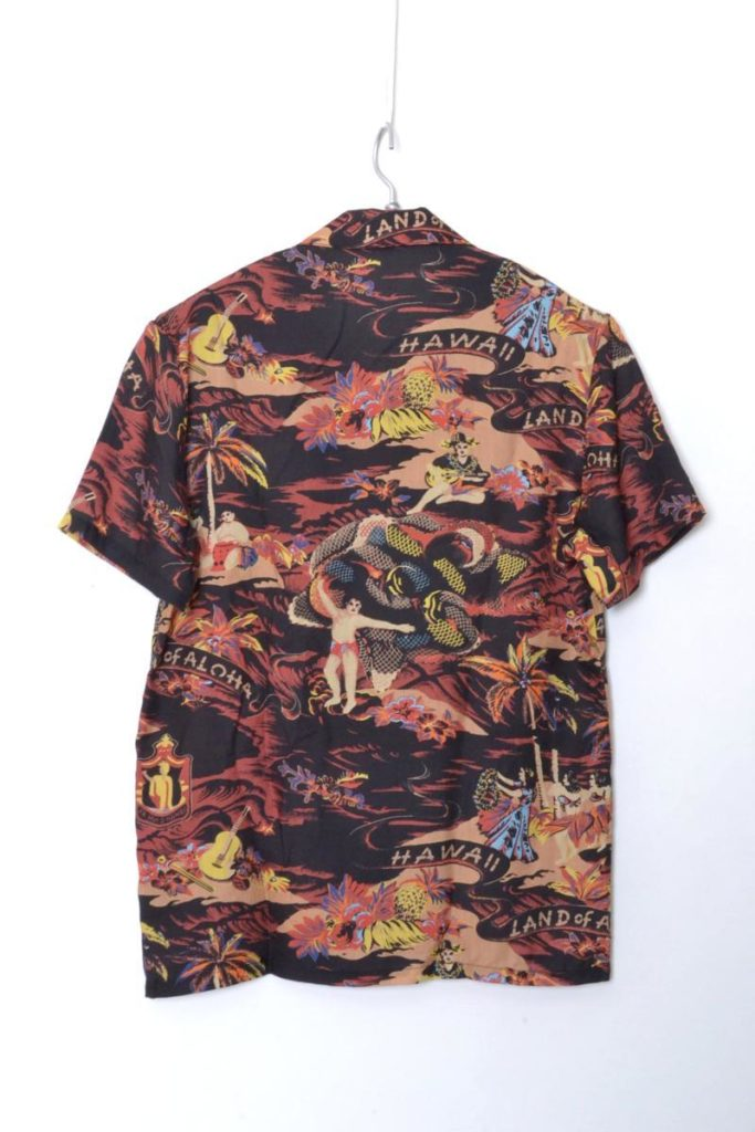 Kauai SH オープンカラー アロハシャツの買取実績画像