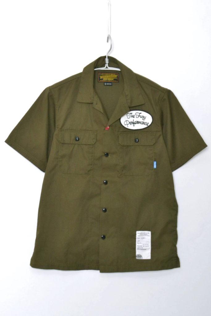 CLASSIC WORK/EC-SHIRT 半袖ワークシャツ