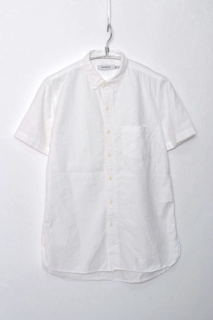 DWELLER B.D. SHIRT SS COTTON OXFORD