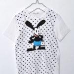 x OSWALD, THE LUCKEY RABBIT/ オズワルド プリントTシャツ