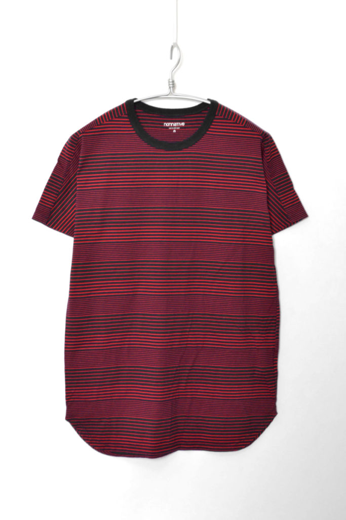 DWELLER TEE DS COTTON BORDER JERSEY