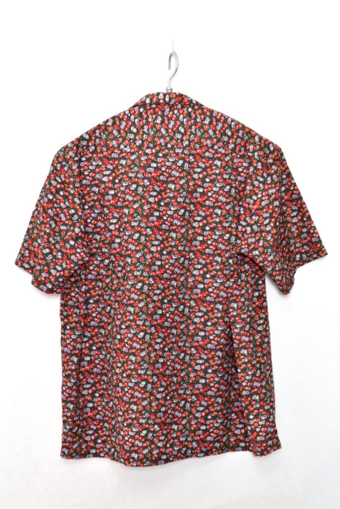 /02SS 1stコレクション/メッセージプリント 半袖オープンカラーシャツの買取実績画像