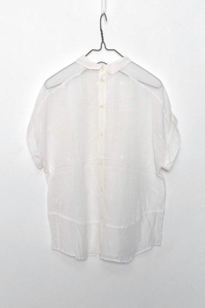 フロントタック ちび襟ブラウスの買取実績画像