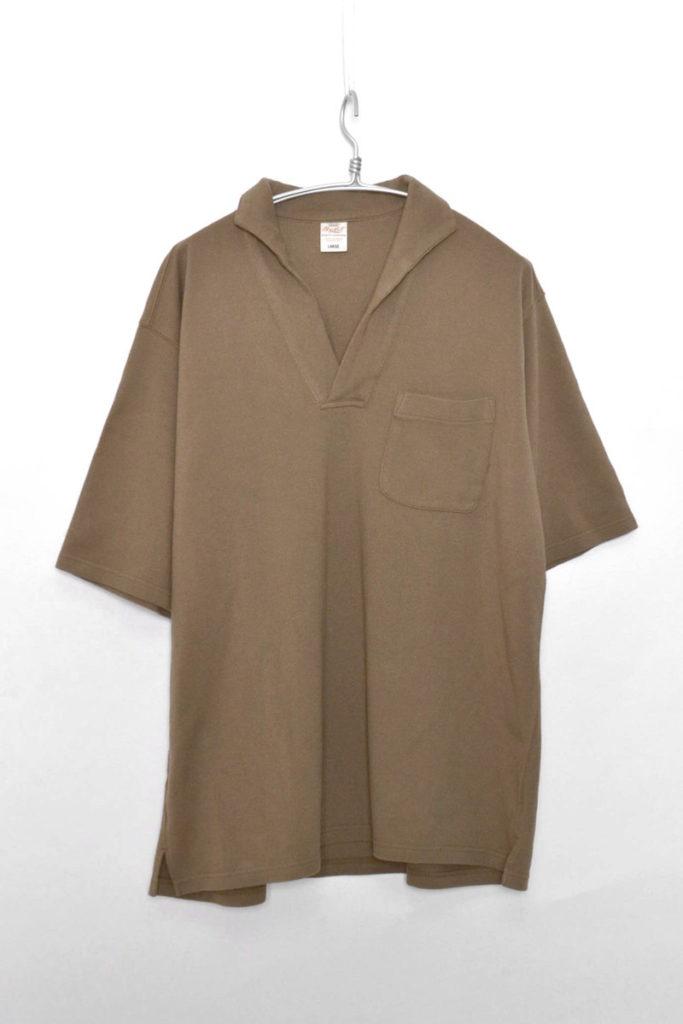 GOLD / ビッグシルエット スキッパーポロシャツ