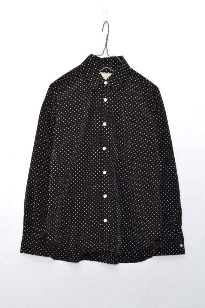 UBCE P DOT/P BIG SHT ドット柄ビッグシャツ