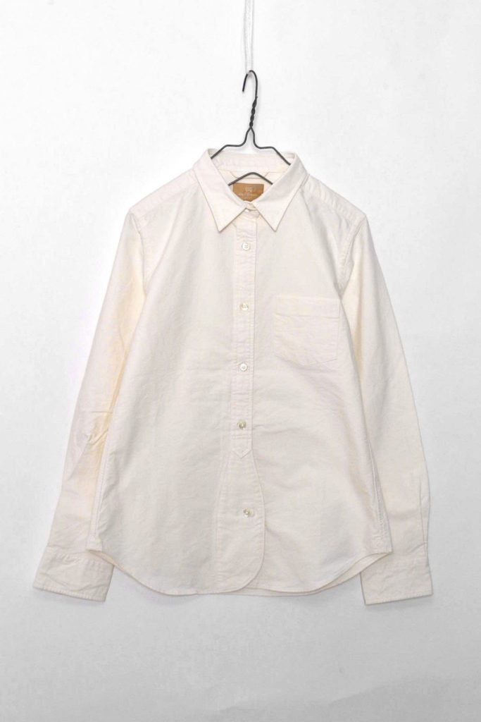 WOMAN/BRITISH OFFICERS SHIRT (OX) オックスフォード オフィサーズシャツ