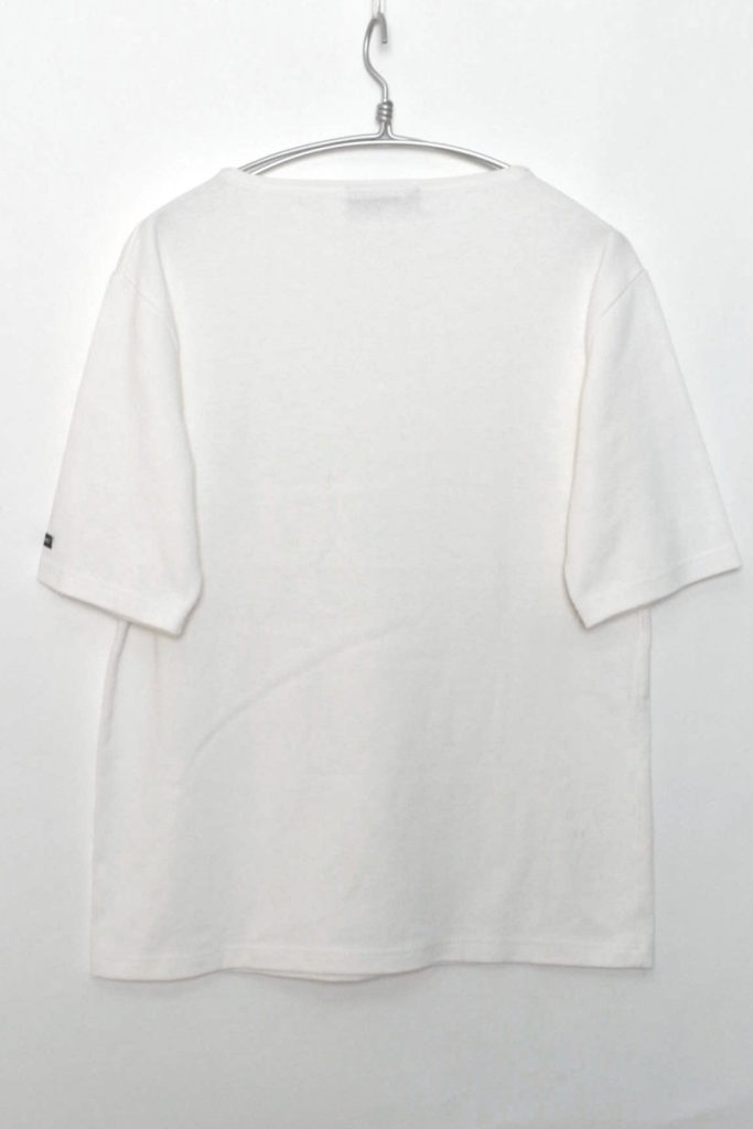 OUESSANT SOLID S/S ウエッソン無地 半袖バスクシャツの買取実績画像