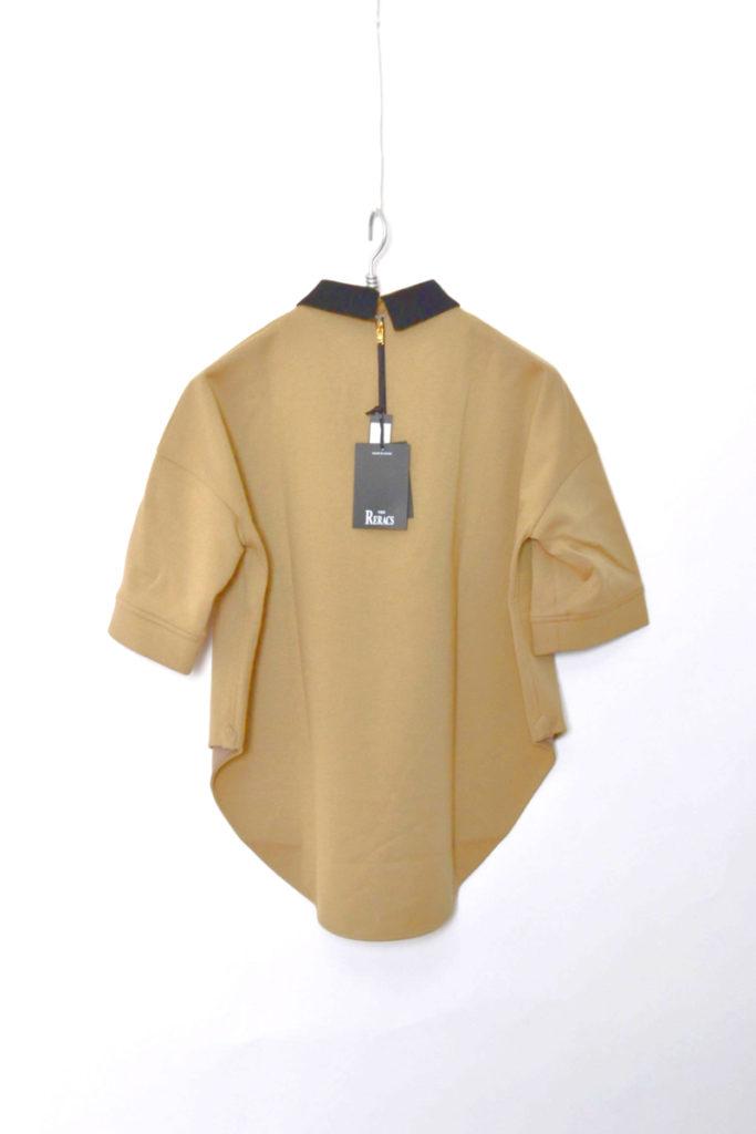 WITH COLLAR A-LINE DRESS クレリックカラー Aラインドレス シャツの買取実績画像