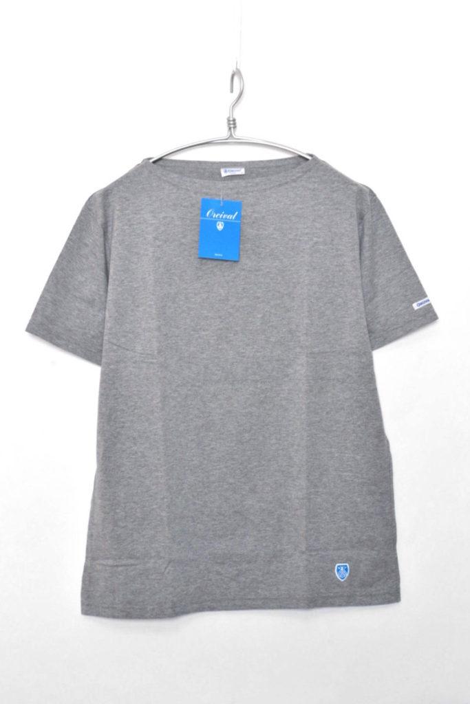 Boatneck T-Shirts 無地ボートネックTシャツ