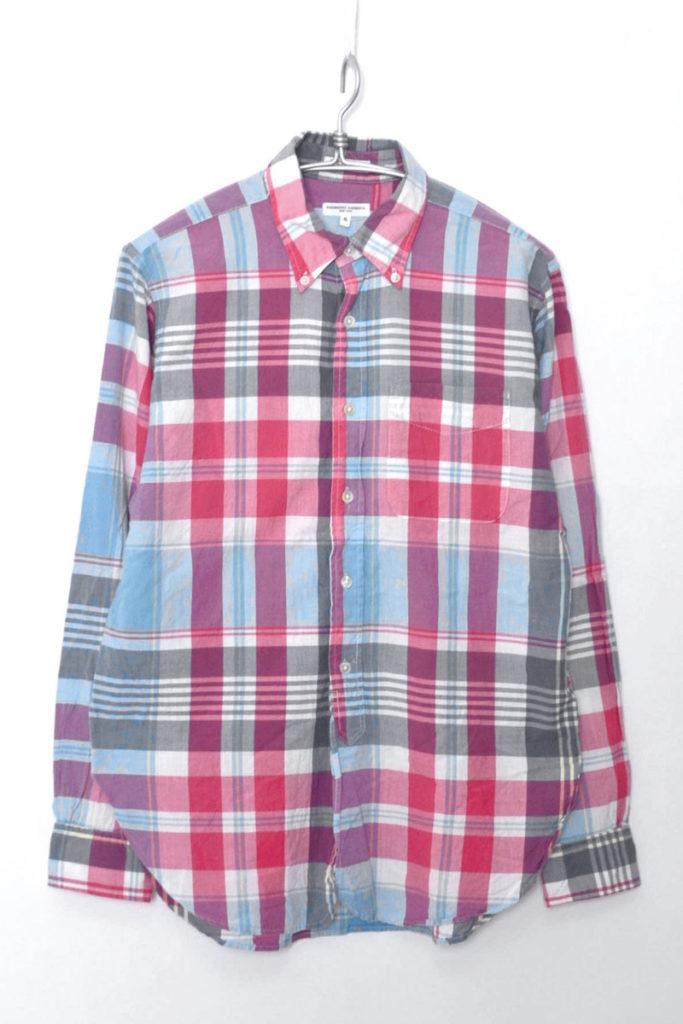 19TH B.D Shirt – Madras Plaid マドラスチェック ボタンダウンシャツ