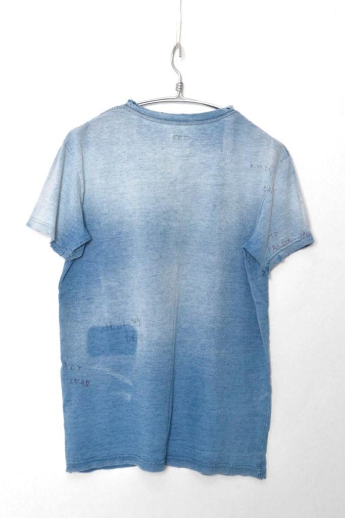 IDG天竺 クルーポケT ユーズド加工 ポケットTシャツの買取実績画像