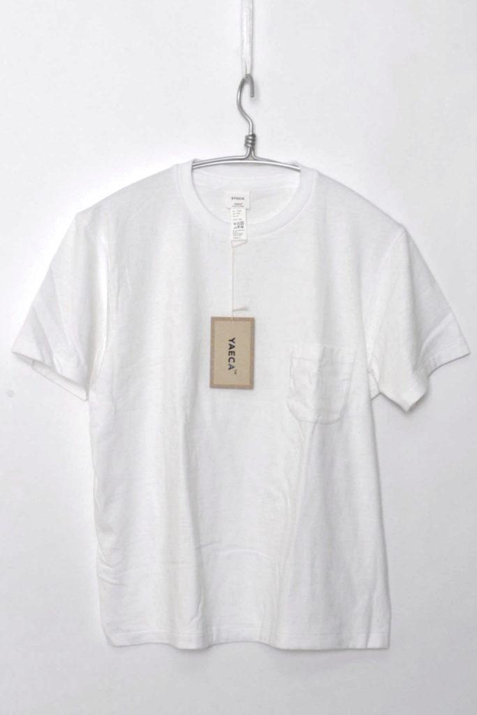 STOCK / 丸胴ポケットTシャツ