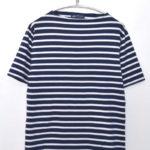 PIRIAC ピリアック ボートネックボーダーTシャツ