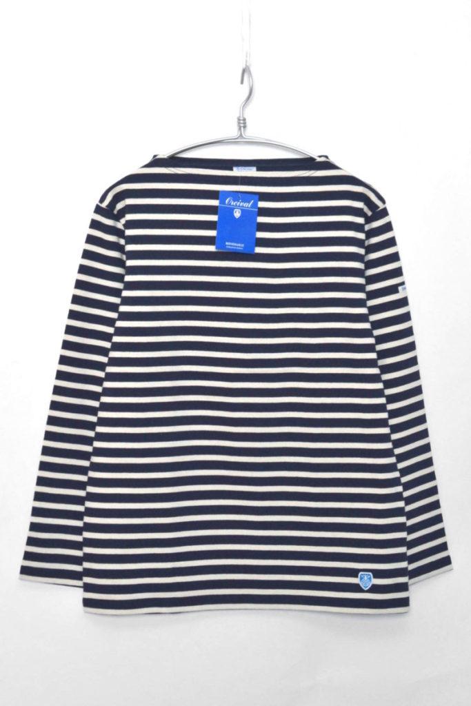 CLW COTTON LOURD コットンロード ボーダーバスクシャツ