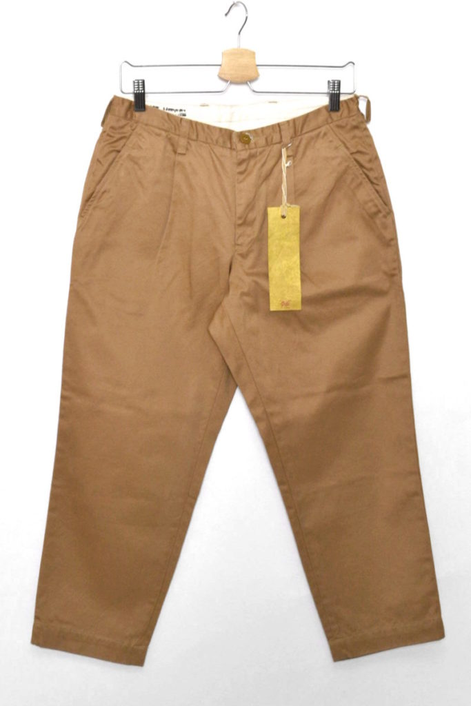 GOLD / Weapon(West Point Twill Chinos) Cropped Trousers
