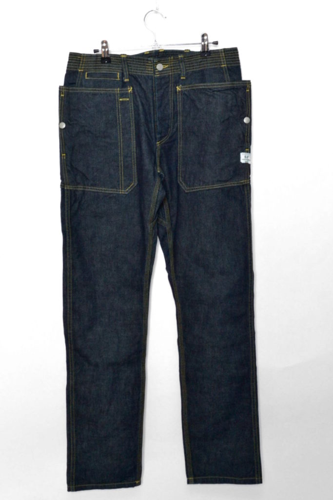 FALL LEAF SPRAYER PANTS DENIM