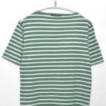 PIRIAC ピリアック ボーダーボートネックTシャツ